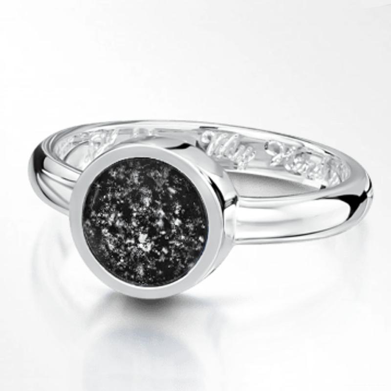 Black Silver Tribute Ring